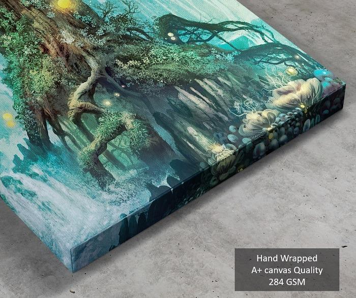 Enchanted Tree canvas wall art