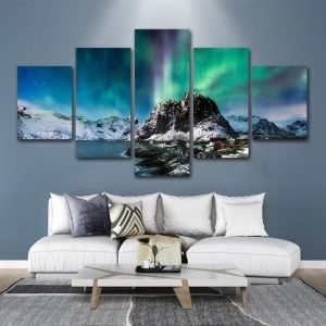 Arctic Mountain Wall Art HD