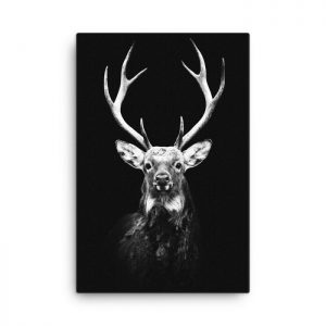 Reindeer Wall Art HD Portrait