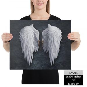 Angel Wings Canvas Wall Art HD