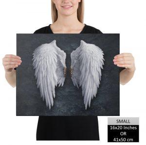 Angel Wings Canvas Wall Art HD