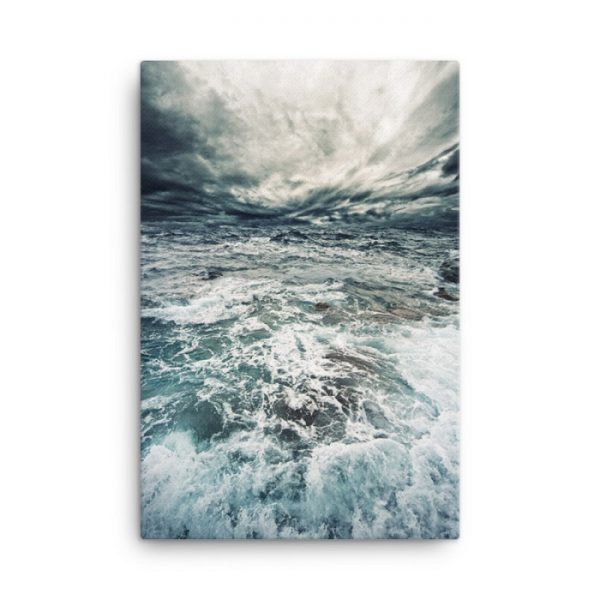 Stormy Ocean Wall Art HD