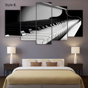 Relaxing Piano Wall Art HD