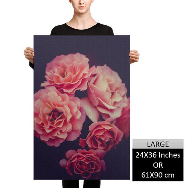 Flowers of Love Wall Art HD