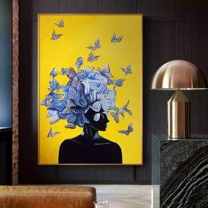 Ideas of Wisdom Canvas Wall Art HD