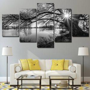 Modular Tree Canvas Wall Art HD