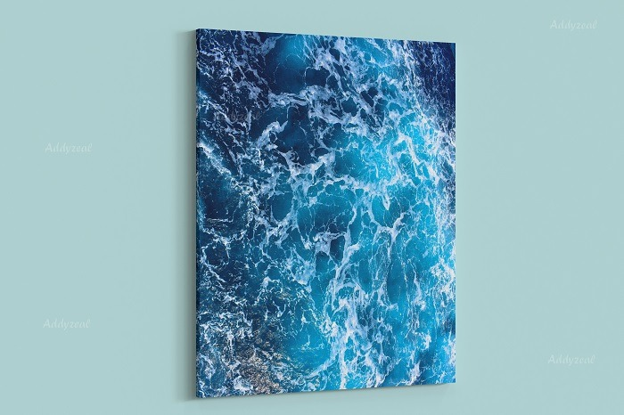 Sea Waves Wall Art HD Quality 1