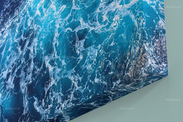 Sea Waves Wall Art HD Quality 2