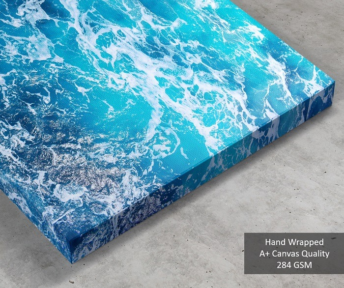 Sea Waves Wall Art HD quality 3